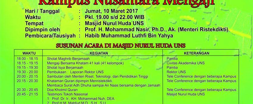 khataman Al Quran UPLOAD